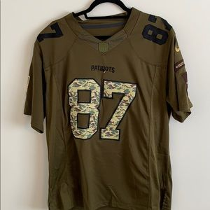 Patriots Salute to Service 87 Jersey